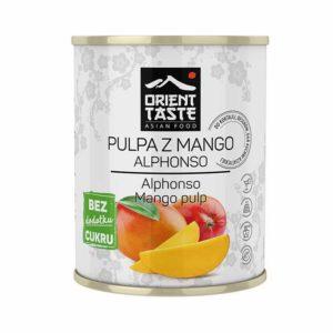 Pulpa z mango bez cukru