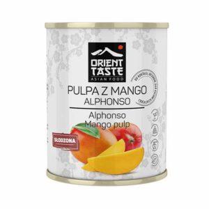 Pulpa z mango słodzona